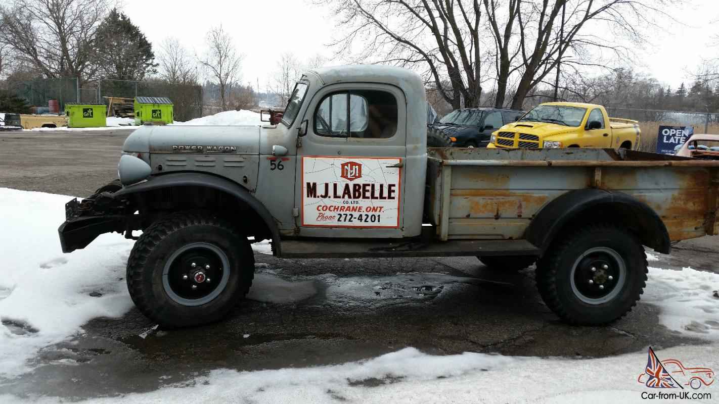 Dodge Power Wagon Base For Sale