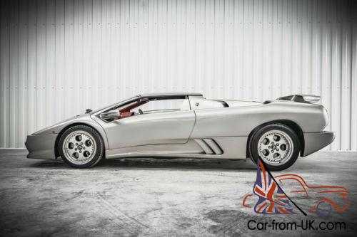 A Beautiful Uk Lamborghini Diablo Roadster Vt Very Low Mileage