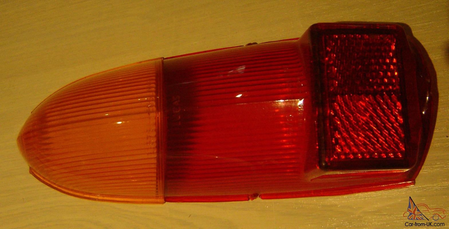 Newer Vehicle Tail Light Lenses : Morris car tail light lens new old stock approx s