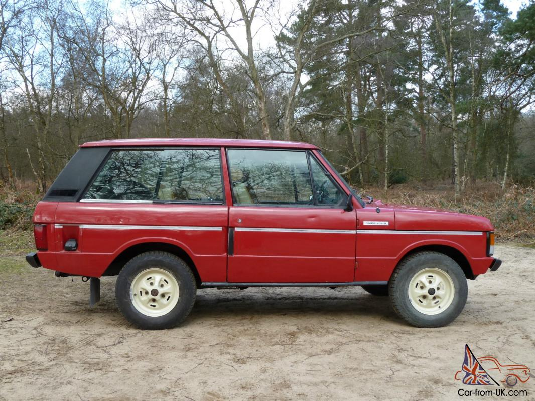 1979 Rover Range Rover Masai Red 64 000 Miles Never Welded