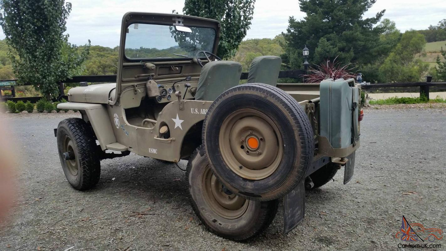 Great SELLING . Genuine Willys Right Hand Drive Jeep . Ford 6 Cyl Engine ( Please  No Barrage Of Questions . Google Says They Were Manufactured Left And Right  Hand ...
