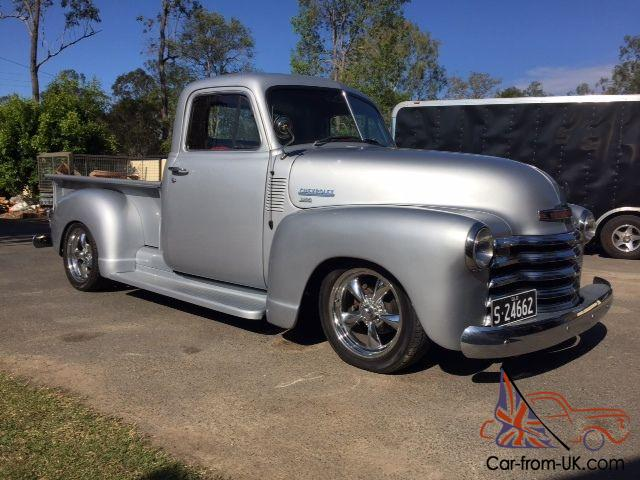 1951 Chevy Pickup Chevrolet Head Turner In QLD Photo