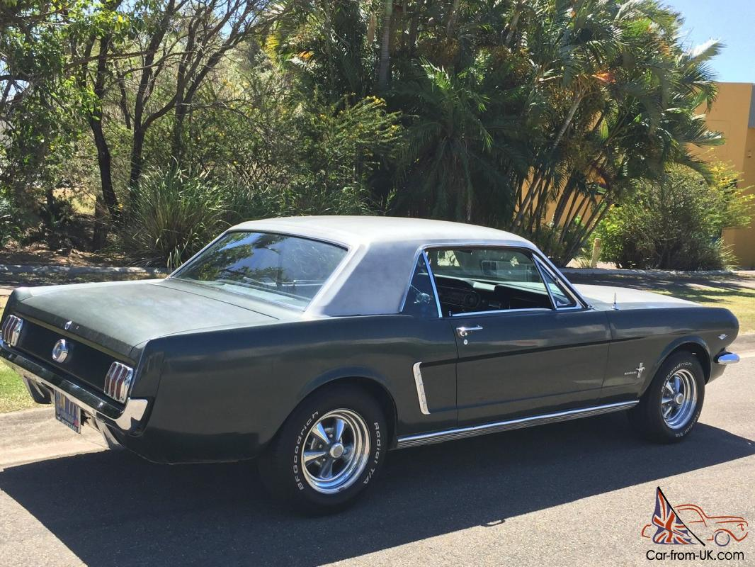 Project Muscle Cars For Sale >> 1965 Ford Mustang Coupe 289 V8 Automatic Restorer
