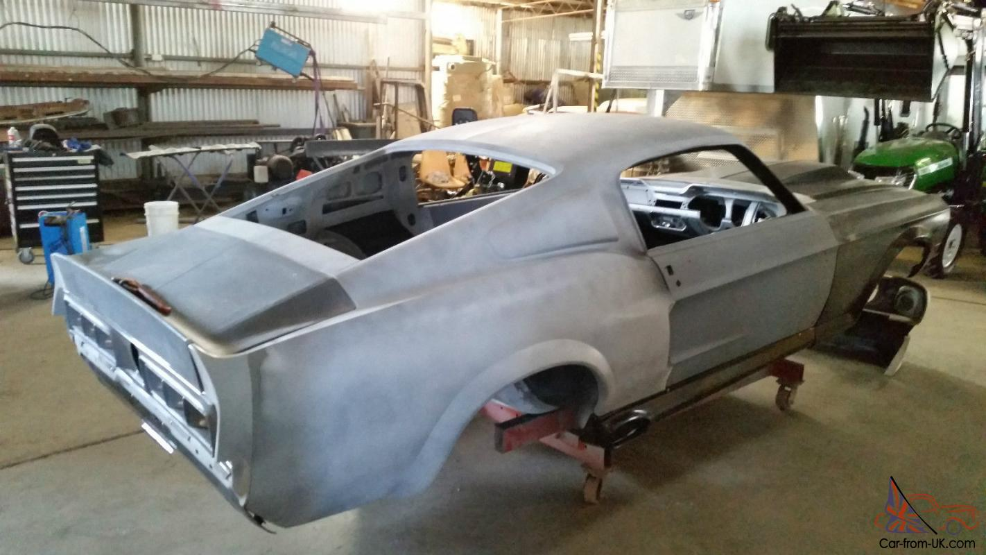 67 Fastback RHD Eleanor GT500 Mustang Unfinished Project