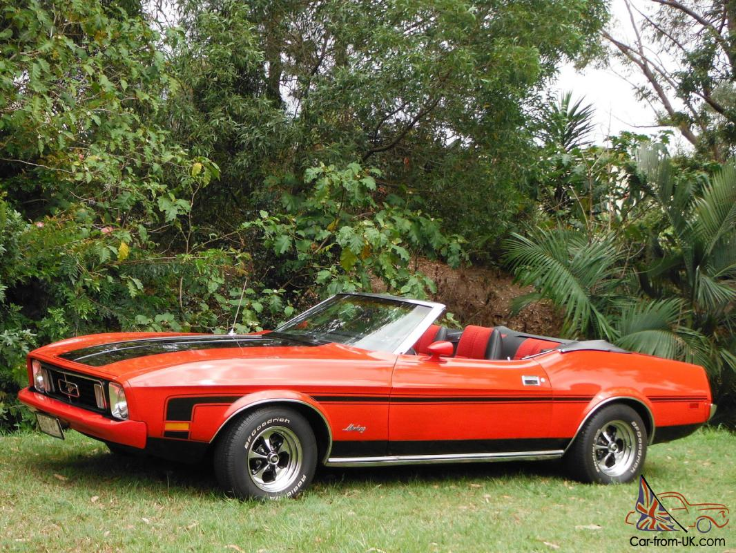 1973 ford mustang convertible 302 v8 automatic in qld. Black Bedroom Furniture Sets. Home Design Ideas