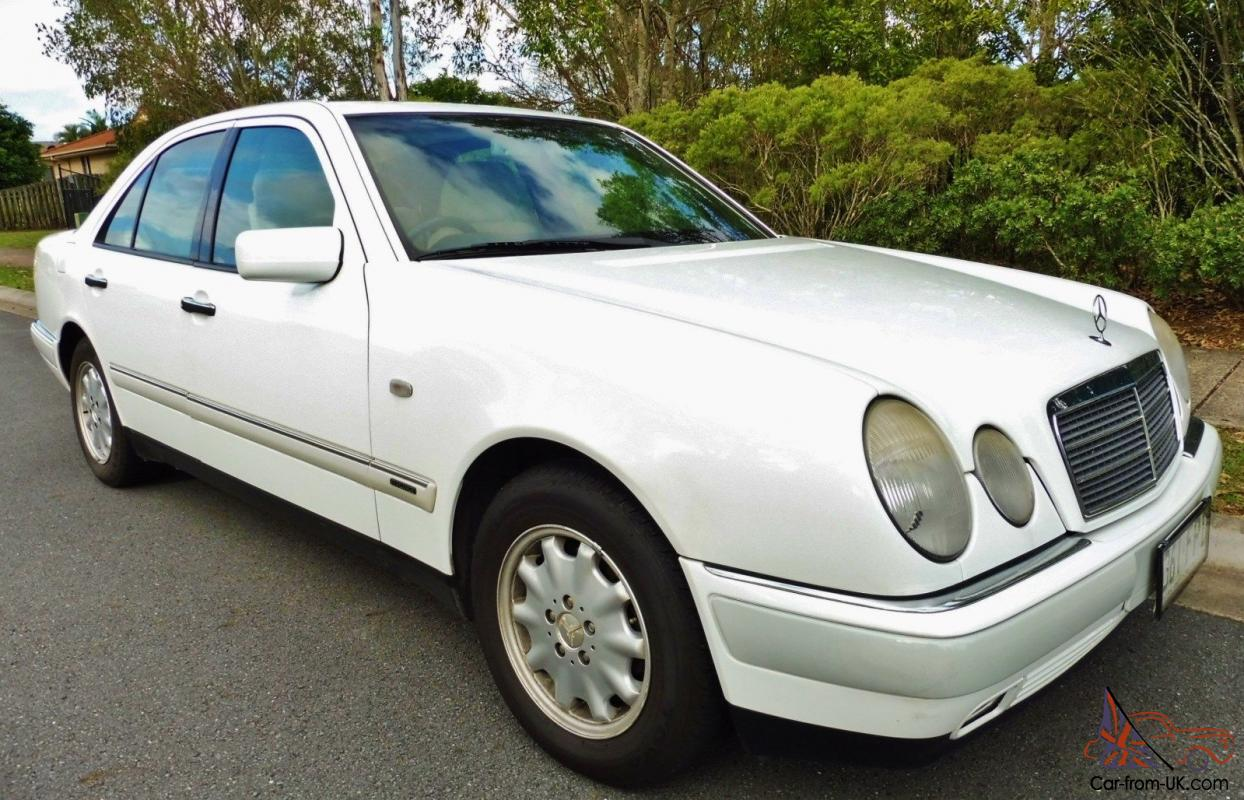 1998 mercedes benz e240 elegance w210 automatic saloon v6 for Mercedes benz plant salary
