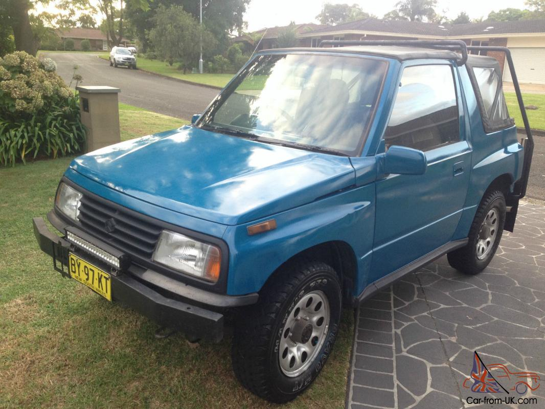 suzuki vitara jlx 4x4 1990 2d softtop manual 1 6l carb seats in nsw. Black Bedroom Furniture Sets. Home Design Ideas