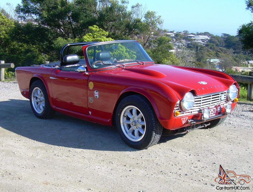 1962 Triumph Tr4 Historic Race Rally Car Trade Vintage Car Or