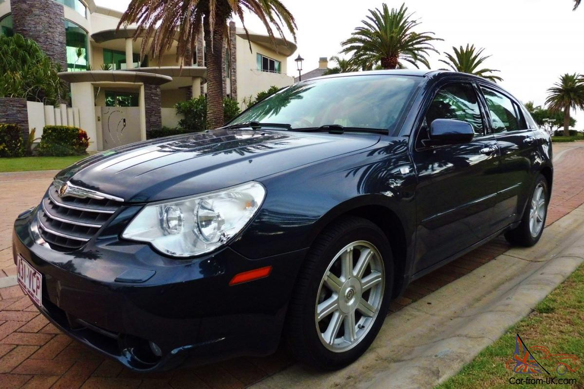 2009 Chrysler Sebring Limited 2 7l V6 Automatic Sedan Leather 18 Alloys Roof In Qld