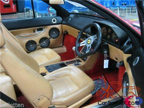 ferrari mondial 1992 red rare only one of its kind in the world. Black Bedroom Furniture Sets. Home Design Ideas