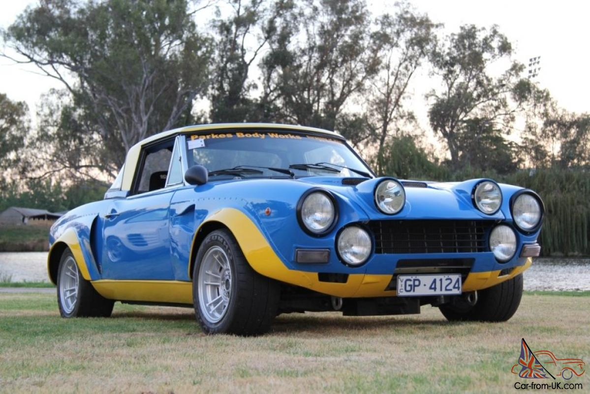 fiat 124 abarth group 4 replica racecar in vic. Black Bedroom Furniture Sets. Home Design Ideas