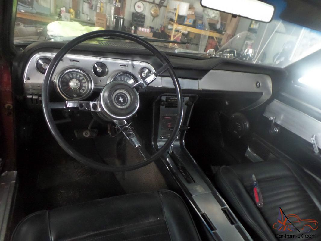 ford mustang s code 390 auto coupe 1967 deluxe interior pwr str disc brakes