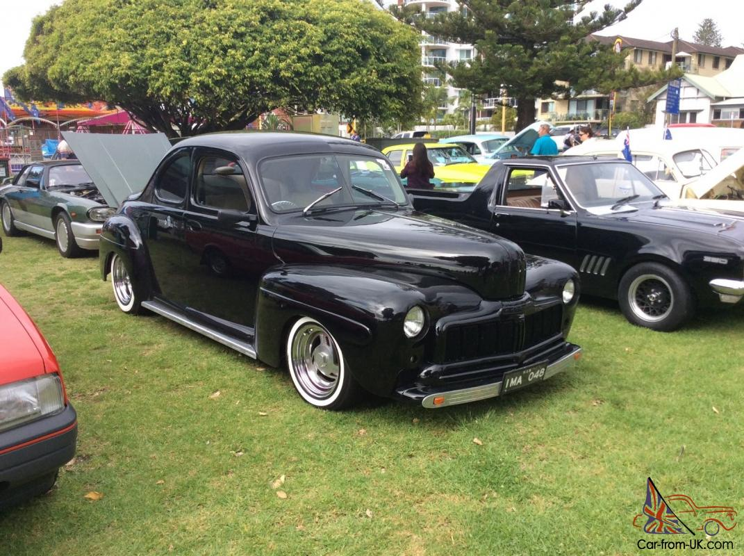 Hot rod 1948 ford mercury rare business coupe in nsw