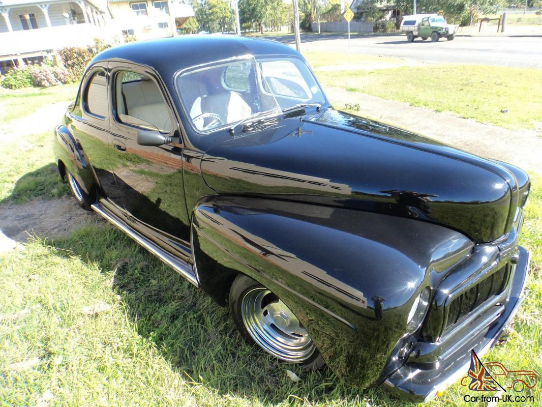 hot rod 1948 ford mercury rare business coupe in nsw. Black Bedroom Furniture Sets. Home Design Ideas