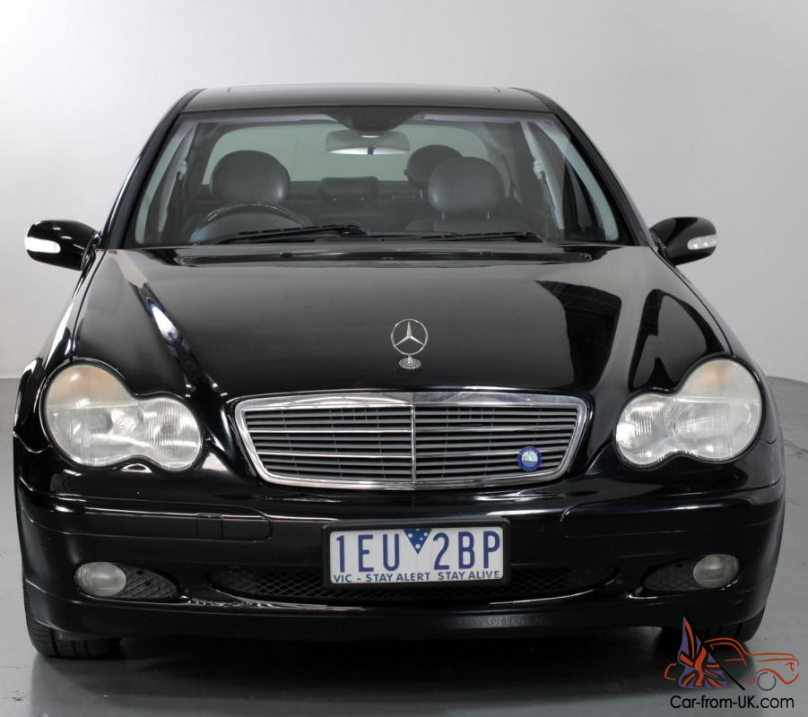Mercedes Benz C200 Kompressor 2004 Automatic 1 8l Supercharged