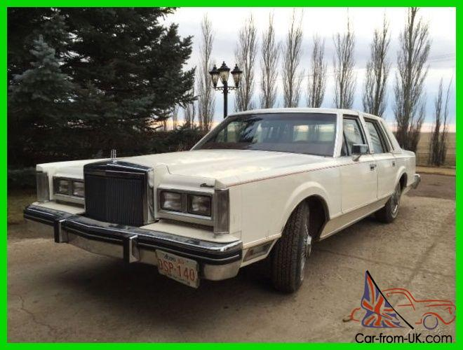 Lincoln Town Car For Sale Alberta