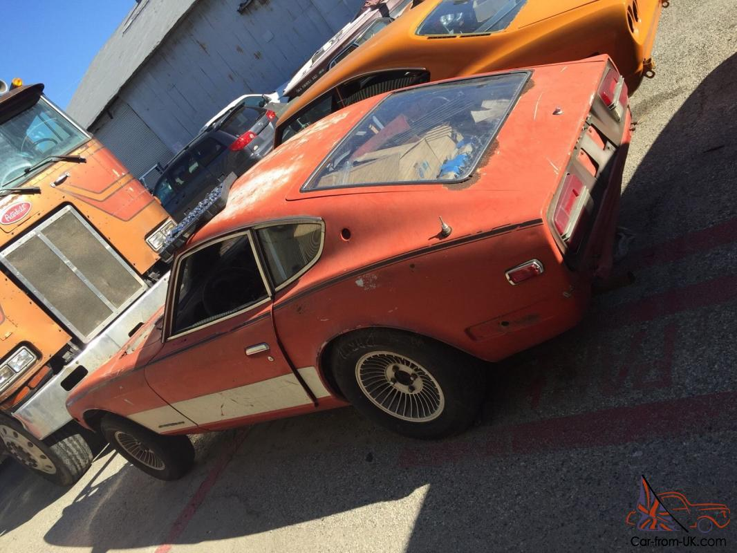 240Z Datsun 1972 Complete Needs Full Restoration 260Z ...