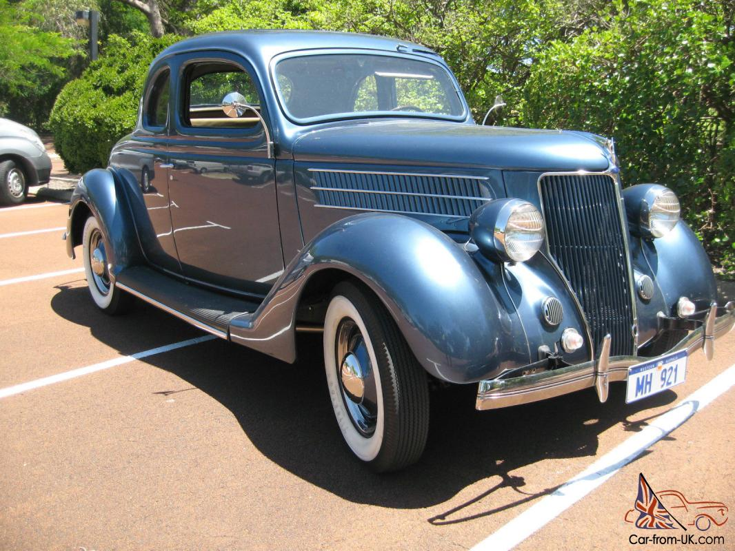 1936 ford v8 coupe excellent condition in wa