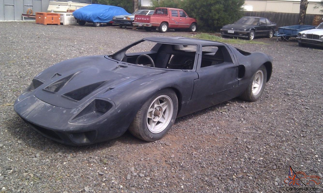 Ford GT40 1966 Unfinished Project CAR NOT Chev Hotrod Drag CAR Show ...