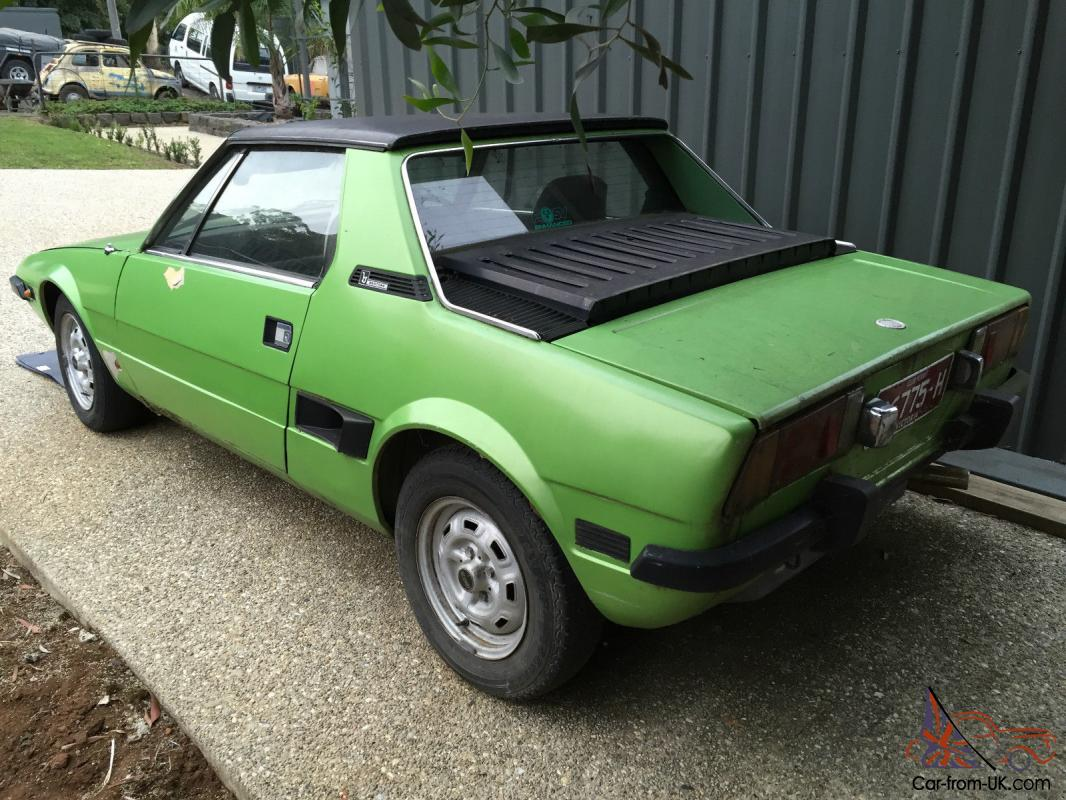 fiat x1 9 x19 1978 special edition 1079 regretful sale 1300 4 speed in vic. Black Bedroom Furniture Sets. Home Design Ideas