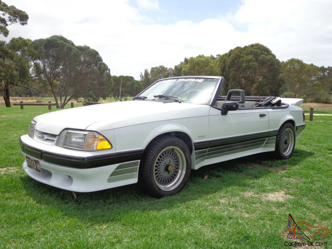 1988 ford saleen mustang convertible coupe supercharged v8 5 speed manual in vic. Black Bedroom Furniture Sets. Home Design Ideas