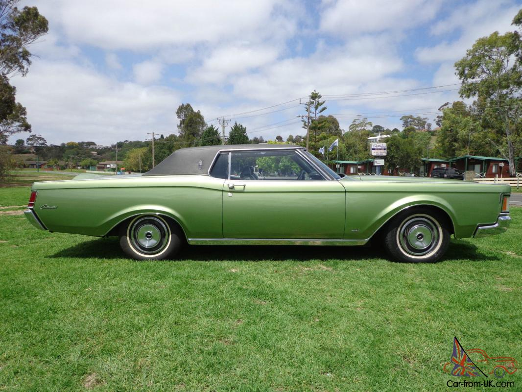 1970 ford lincoln mk 3 continental coupe v8 auto in vic. Black Bedroom Furniture Sets. Home Design Ideas