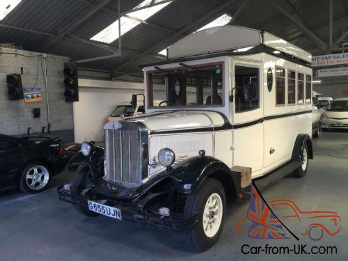 ASQUITH MASCOT VINTAGE WEDDING BUS 9 SEATER IN UK STOCK AND REGISTERED