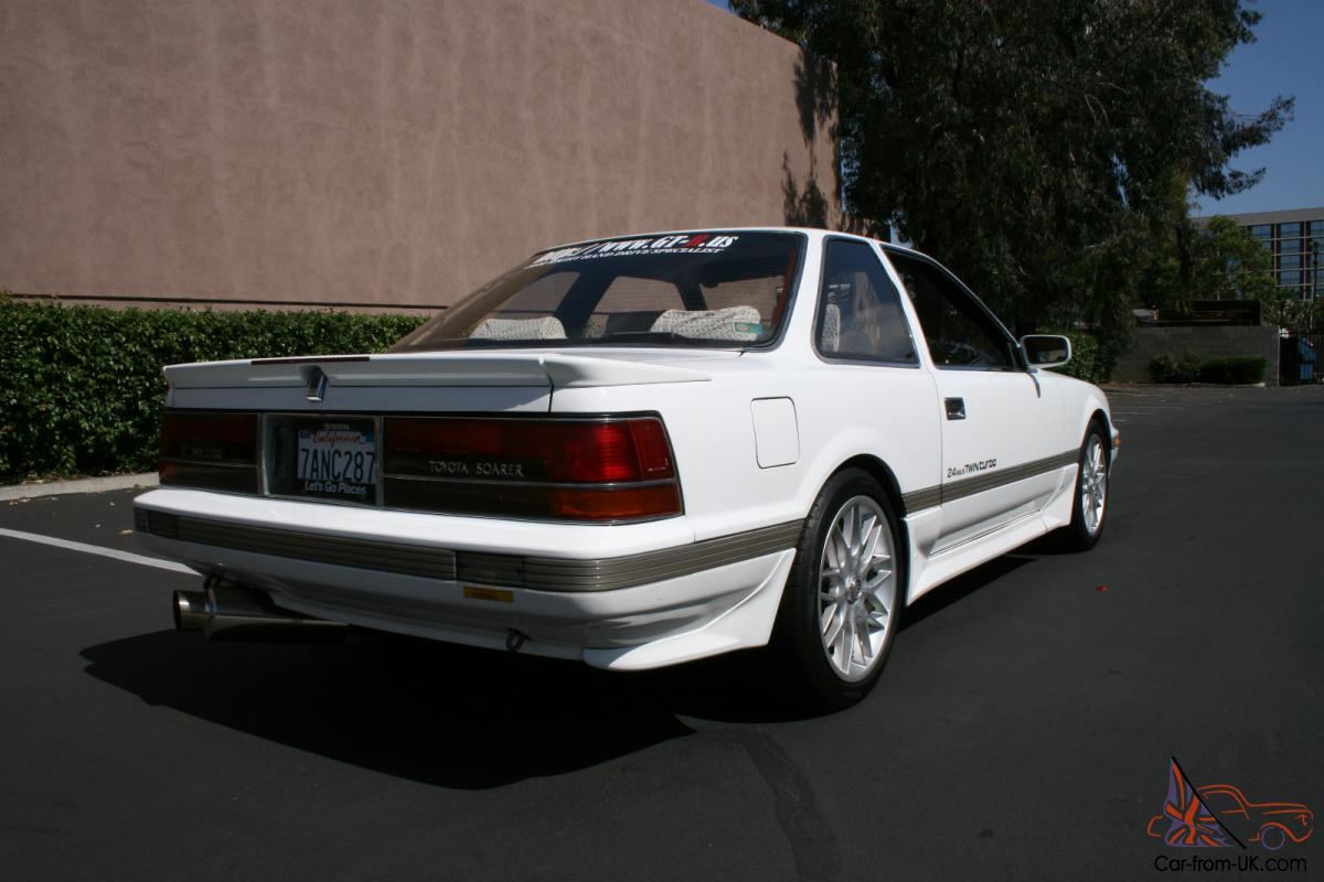 1987 Toyota Soarer Gt Twin Turbo Jdm Right Hand Drive