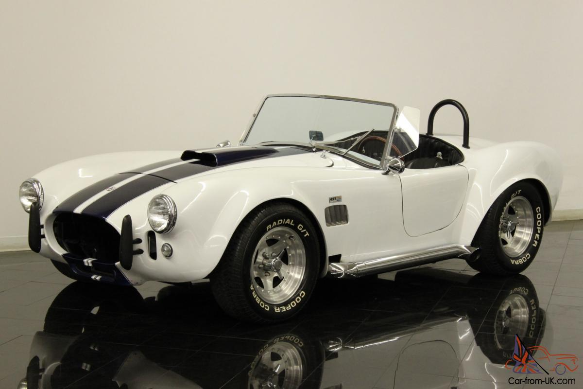 1970 Shelby Cobra 427 Kitcar Roadster 350ci TH350 V8 Automatic DOCUMENTED