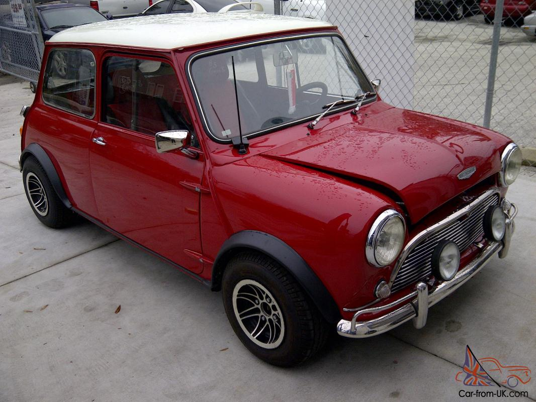 1965 austin mini cooper s mk1 classic mini fully restored antique. Black Bedroom Furniture Sets. Home Design Ideas
