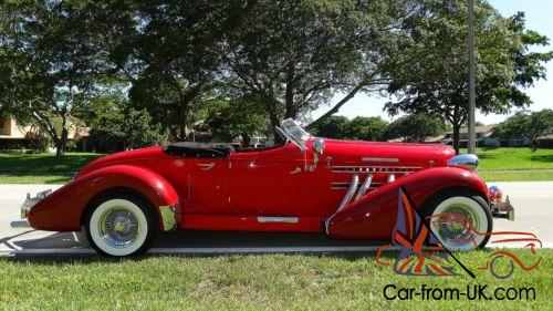 1978 other makes auburn replica 1938 auburn boat tail speedster replica. Black Bedroom Furniture Sets. Home Design Ideas