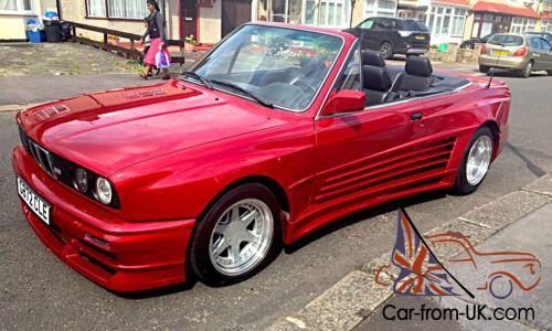 Bmw E30 Convertible M3 Replica With E36 M3 S50 B30 Engine