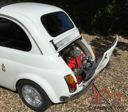 1971 Fiat 500 Classic, Rebuilt To Abarth 695 Specification