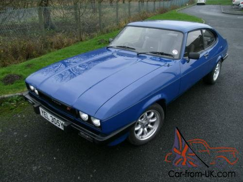 ford capri mk3 with st170 engine 185 bhp professional. Black Bedroom Furniture Sets. Home Design Ideas