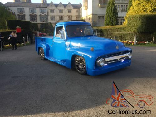 1955 American Ford Pick Up Truck V12 Engined Modern Conversion