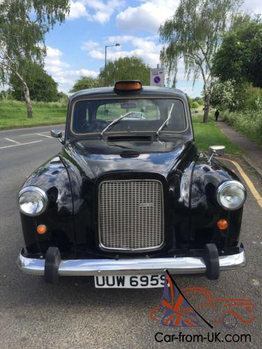 london austin black taxi cab 1977 with years mot no advisory very rare export. Black Bedroom Furniture Sets. Home Design Ideas