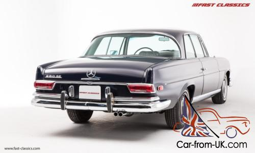 Mercedes benz 280 se coupe navy blue 1968 for Navy blue mercedes benz