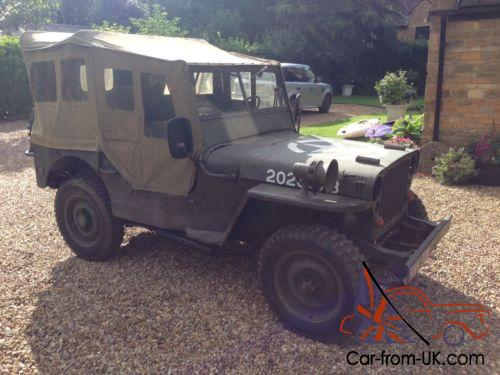 genuine 1944 willys ww2 us army jeep. Black Bedroom Furniture Sets. Home Design Ideas