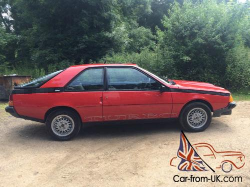 Renault fuego turbo for sale