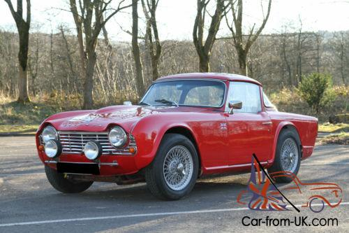 1964 Triumph Tr4 Full Historic Rally Spec Finished In Stunning Red