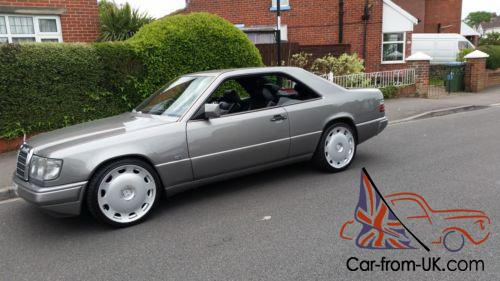 1990 mercedes 300 ce 24v auto w124 grey pillarless coupe 2 previous owners. Black Bedroom Furniture Sets. Home Design Ideas