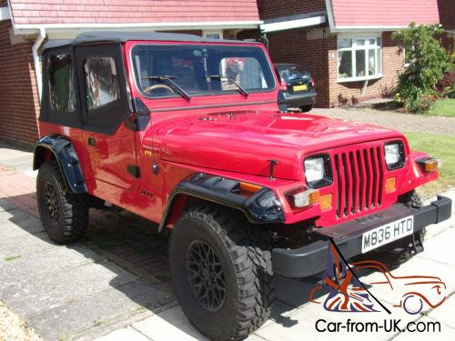 Charming STUNNING 1995 JEEP WRANGLER YJ FULL BODY RESTORATION AND BRAND NEW SOFT TOP!