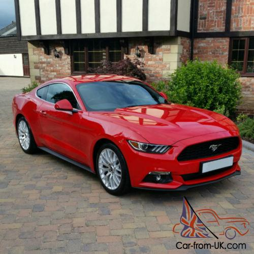 Ford Mustang 2016 Right Hand Drive Full Custom Pack Race