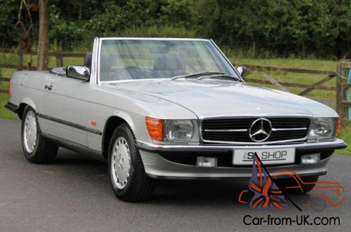 Classic mercedes benz r107 420 sl 1988 astral silver for Classic mercedes benz for sale ebay