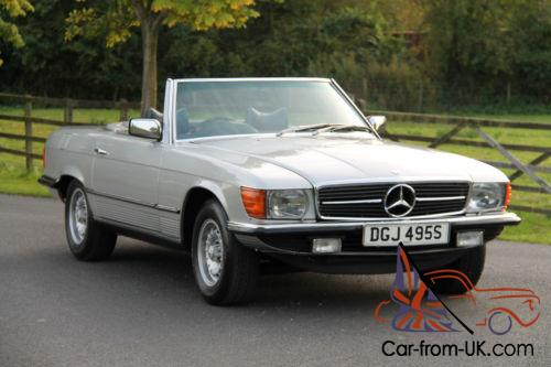 Classic mercedes benz r107 350 sl 1977 astral silver for Classic mercedes benz for sale ebay