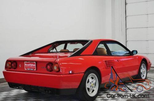 1989 ferrari mondial t coupe. Black Bedroom Furniture Sets. Home Design Ideas