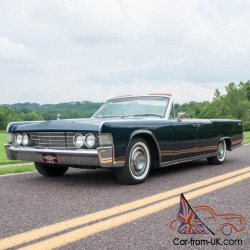 1999 Lincoln Continental For Sale: 1965 Lincoln Continental Continental Four-Door Convertible