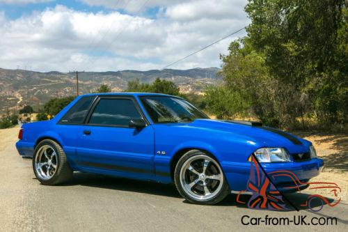 1988 Ford Mustang Lx Coupe Notchback Photo