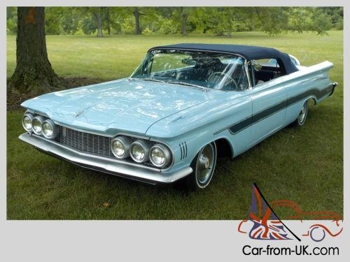 1959 Oldsmobile Ninety Eight No Reserve Olds Custom Convertible