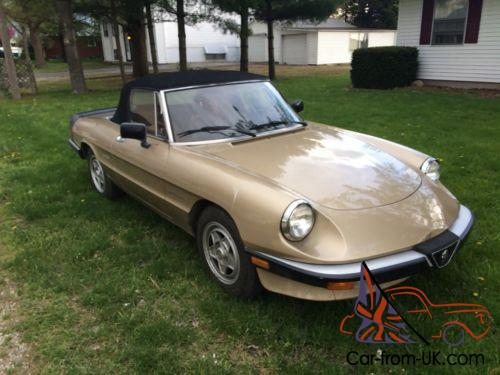 Alfa Romeo Spider Veloce - 1986 alfa romeo spider veloce for sale